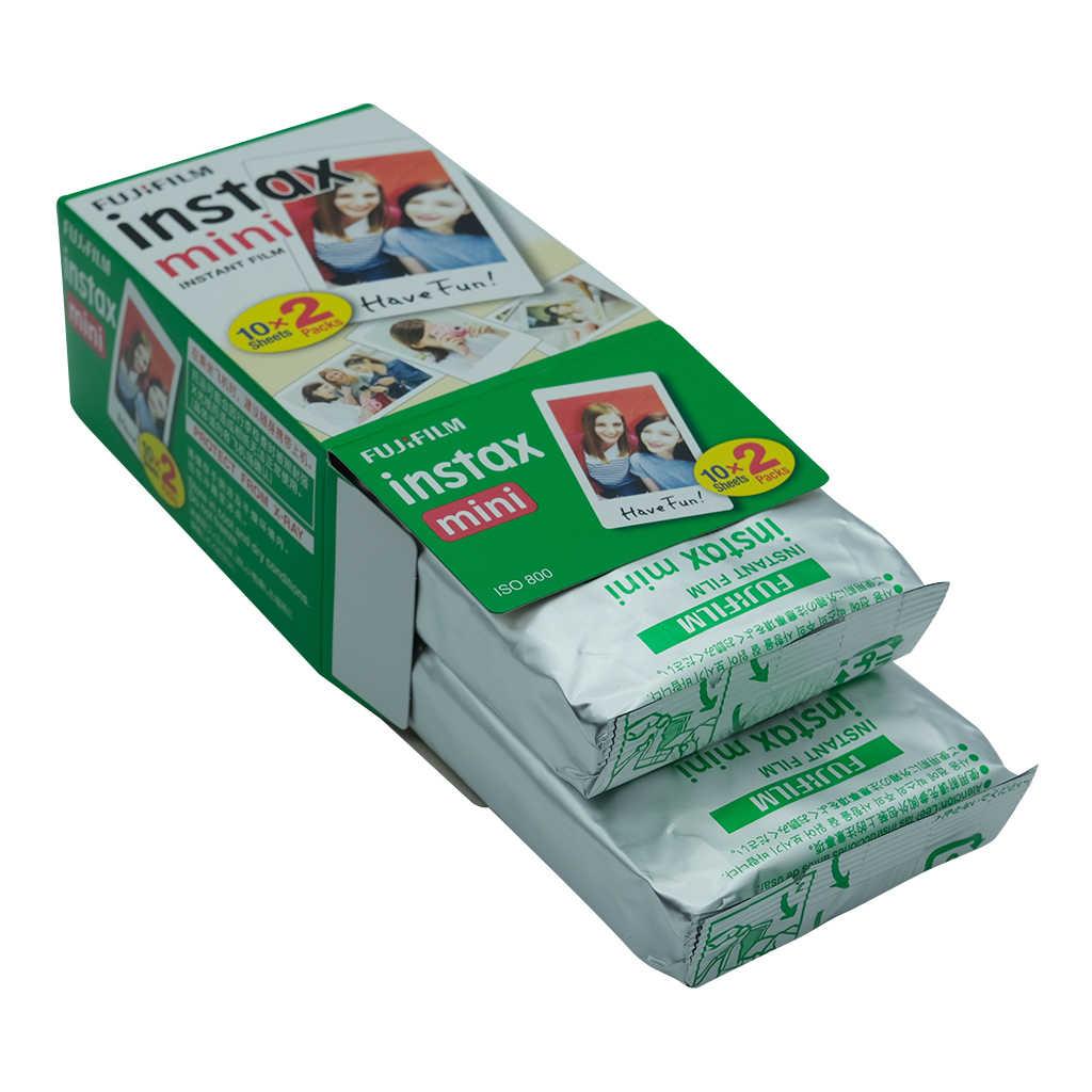 10-300 arkusze Fujifilm Instax Mini Film biała krawędź 10 20 40 60 80 100 200 300 arkusze dla FUJI Instant instax mini 8 9
