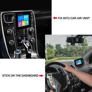Image 3 - Mini DAB dijital radyo alıcısı Bluetooth MP3 müzik çalar FM verici adaptörü için renkli LCD ekran araba aksesuarları