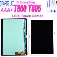 New LCD For Samsung Galaxy T805 Tab S T800 T805 SM T800 T807 Display Touch Screen Digitizer Sensors Assembly Panel Replacement