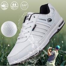 2020 сил мужчины Гольф обувь анти скольжения удобные спортивные кроссовки открытый черный белый спортивные для гольфист