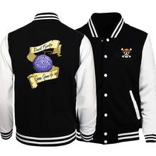 Autumn Jacket Baseball-Uniform One-Piece Coats Print Anime Streetwear-Japan Men's Master