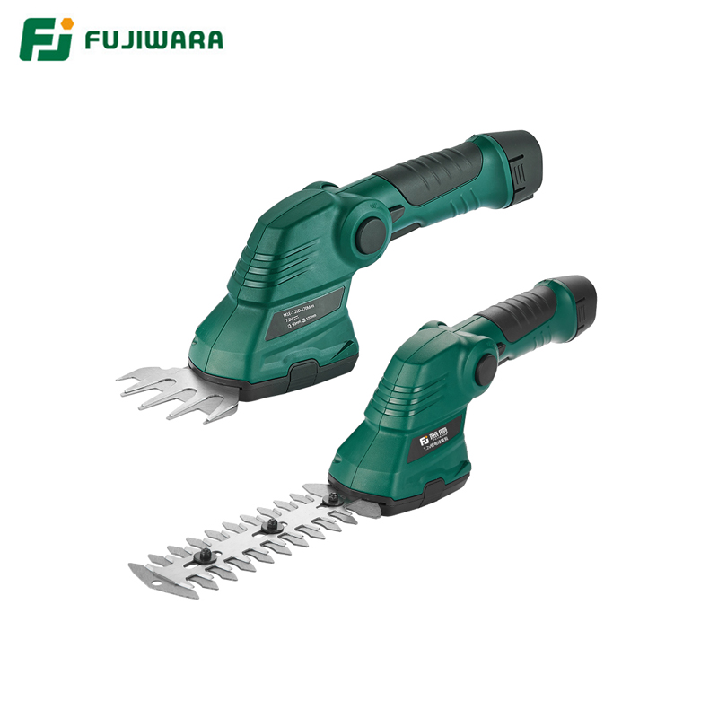 FUJIWARA Electric Pruning Shears 7.2V Rechargeable Lithium Battery Hedge Trimmer Lawn Trimming Tool
