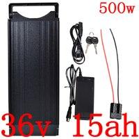 Bateria elétrica 36 v 10ah 12ah 13ah 14ah 15ah do íon de lítio com 15a bms + 2a carregador 36 v 500 w bateria 36 v 15ah da bicicleta elétrica