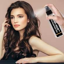 30/100ml spray de cabelo spray estilo do cabelo spray forte estilo de cabelo gel contém densas fibras de cabelo hidratante spray