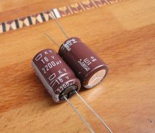 50pcs/lot Original JAPAN NIPPON KY series 105C high frequency capacitor aluminum electrolytic capacitor free shipping