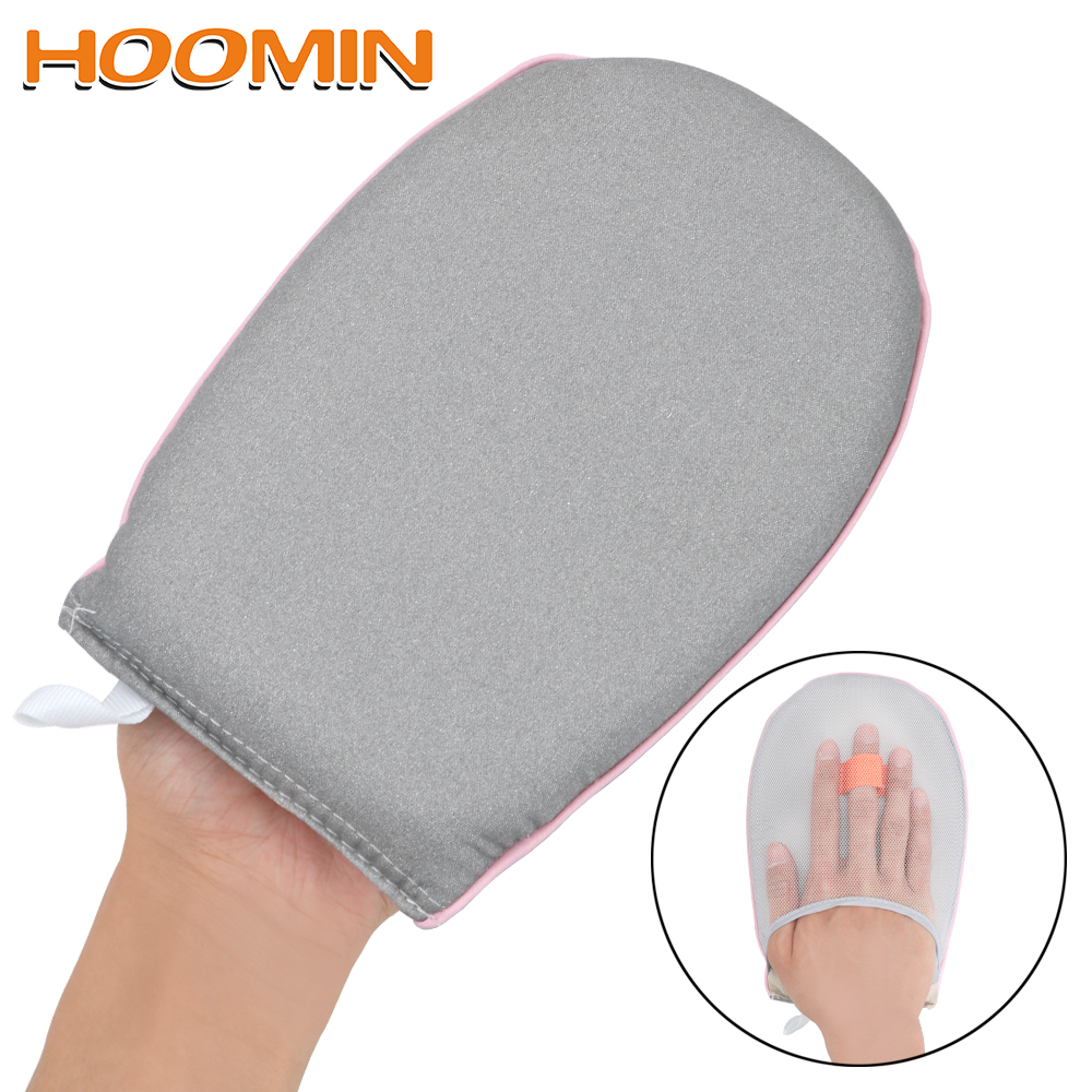 HOOMIN Hand-Held For Clothes Garment Steamer Iron Table Rack Sleeve Ironing Board Heat Resistant Glove Mini Ironing Pad