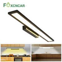 220V LED Lighting For Under Kitchen Cabinets Luces LED Decoracion Dormitorio Wardrobe Closet Night Light For Bathroom Wall Lamp