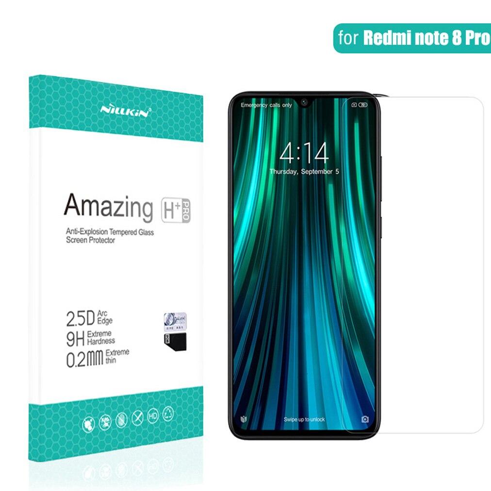 For Xiaomi Redmi Note 8 Pro Tempered Glass NILLKIN H/H+Pro Nano Anti-Explosion 9H Screen Protector Film For Redmi Note 8 Note8