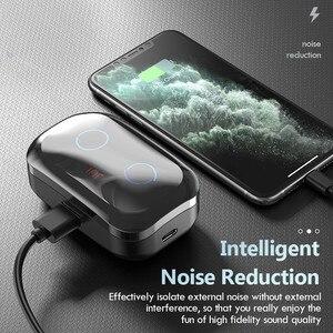 Image 3 - Auriculares TWS 5,0, inalámbricos por Bluetooth 9D, auriculares IPX7 impermeables deportivos con micrófono