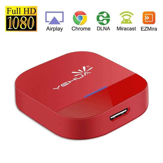Hdmiテレビスティックワイヤレス 5 グラムwifiの表示ドングルアダプタフルhd 1080 1080p dlnaエアプレイmiracastテレビスティック電話テレビコンピュータ