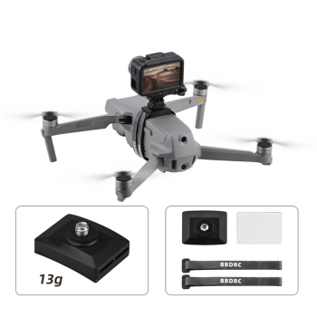 1 Set Top Extension Camera Fill Light Bracket Mount Holder for DJI Mavic Air 2 Mini FIMI X8 SE Mini 2 Air 2s Drones Accessories 1