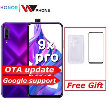 Honor 9X Pro Smart Phone Kirin 810 Octa Core 6.59 inch Lifting Full Screen 48MP 3 Cameras 4000mAh GPU Turbo Mobile Phone