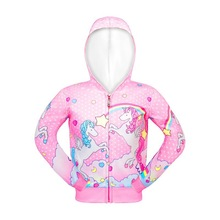 Fashion Unicorn Jackets for Girls Outerwear kids Princess Coat Baby Jacket Rainbow Clothing Pink And Blue Costume fashion green and pink rainbow flower fairy costume for girls birthday cupcake layered dresses