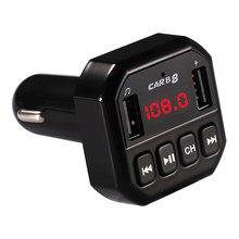 Wireless FM Trasmettitore LCD Musica MP3 Audio Receiver Adapter Trasmettitore Slot Per TF FM Modulatore Bluetooth Hands-free Car Kit