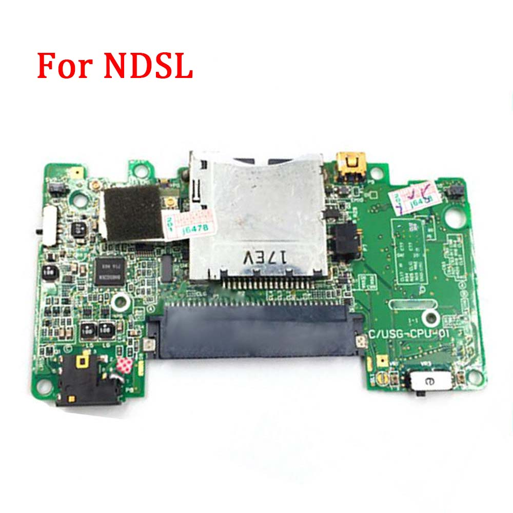 Replacement Motherboard For Nintend DS Lite Gamepad Console PCB Board Used Original Mainboard Parts For NDSL Repair Accessories