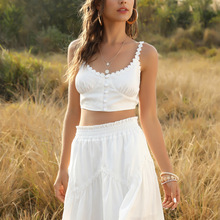 Fashion Sexy Beach Party Skirt Cute Sets Short Two Piece Set