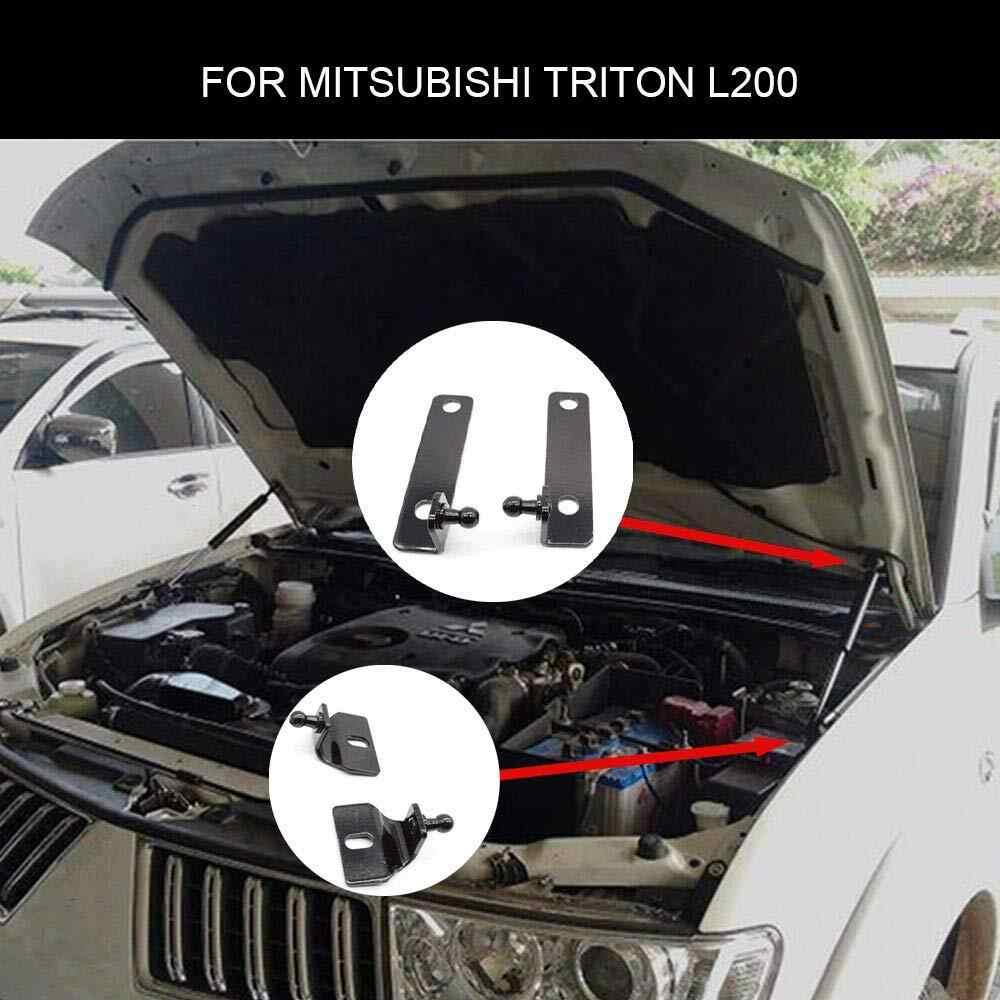 Untuk Mitsubishi Triton L200 Strada Hunter 2005-2014 4X4 Pickup Aksesoris Depan Hood Bonnet Gas Penyangga Lift penopang Damper Shock