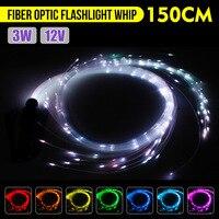 LED Stage Light DC12V 3W LED Fiber Dance Whip 360 Degree flashlight 40 Modes Light Shows EDM Music Festival Commercial Lighting