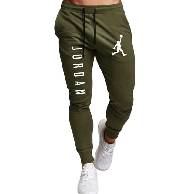 2020 Casual Pants Men Joggers Sweatpants Solid Color Trousers Fitness Sportswear Jogger Track Pant Plus Size S-2XL Summer Spring 6