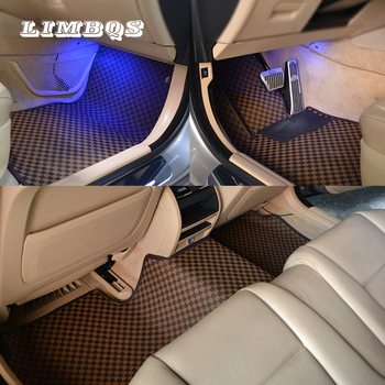 4 colors high-end mat for bmw f10 f11 e60 g30 5 series waterproof anti-dirty floor mats easy to clean no smell pad heel image