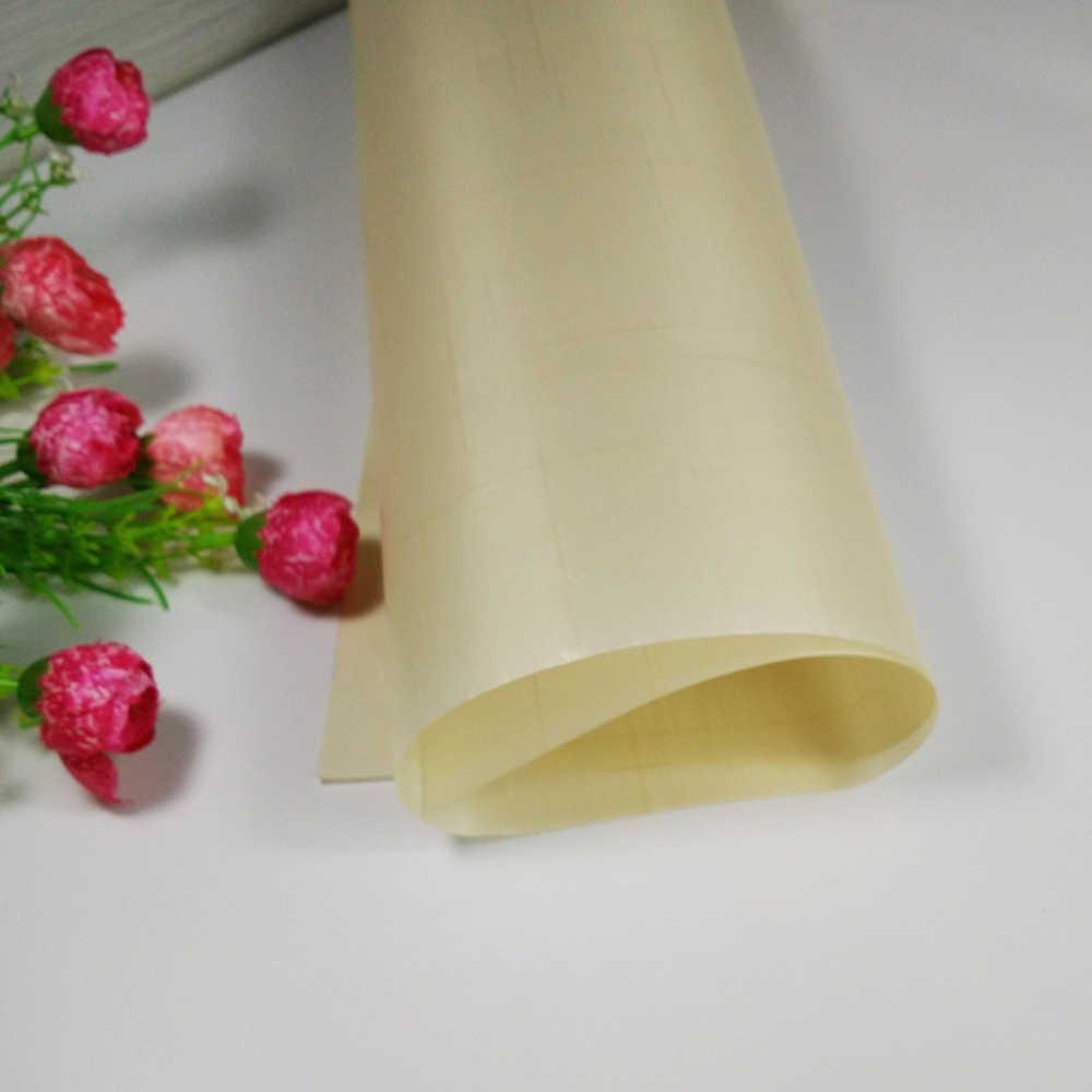 Yeniden kullanılabilir 60*40cm Fiberglas Kumaş Yapışmaz Mat Çok Fonksiyonlu BARBEKÜ Mat Yapışmaz fırın tepsisi