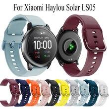 Ремешок сменный для смарт часов xiaomi haylou solar ls05 мягкий