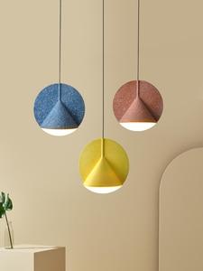 Современная креативная Регулируемая Подвесная лампа E14, скандинавский комбинированный металлический шкив для украшения спальни, светодио...