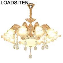 Cuisine Crystal Lampen Industrieel Lampara De Techo Colgante Moderna Deco Maison Suspension Luminaire Luminaria Hanging Lamp