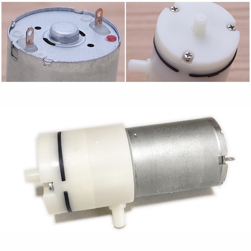 2.4L/min 3.7V/6V/12V/24V Mini Air Pump Electric Micro Vacuum Pump Electric Pumps Booster Motor For Medical Treatment Instrument