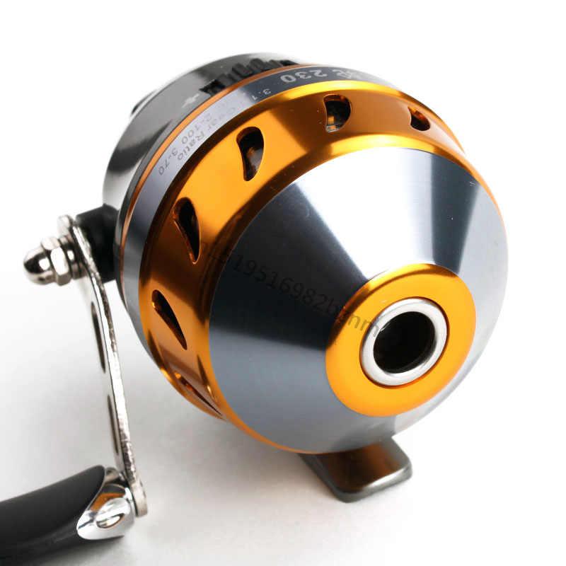 جديد بكرة دوارة معدنية مقلاع نسبة السرعة 3.1:1 متعددة الوظائف مغلقة عجلة صيد السمك البحري الراقية بكرة صيد معدنية