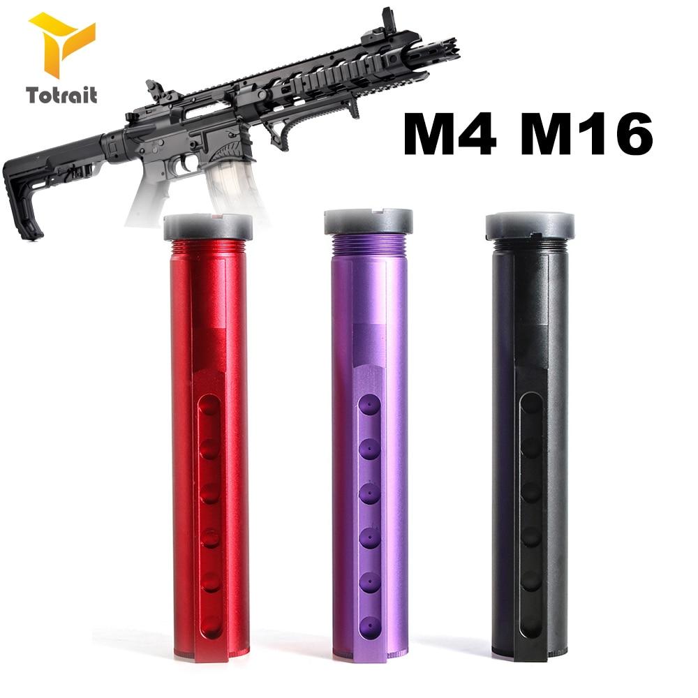 TOtrait CNC Metal Buffer Tube For BD556/LDT-HK416/TTM/JM 9 M4/SLR/AEG Modification Upgrade