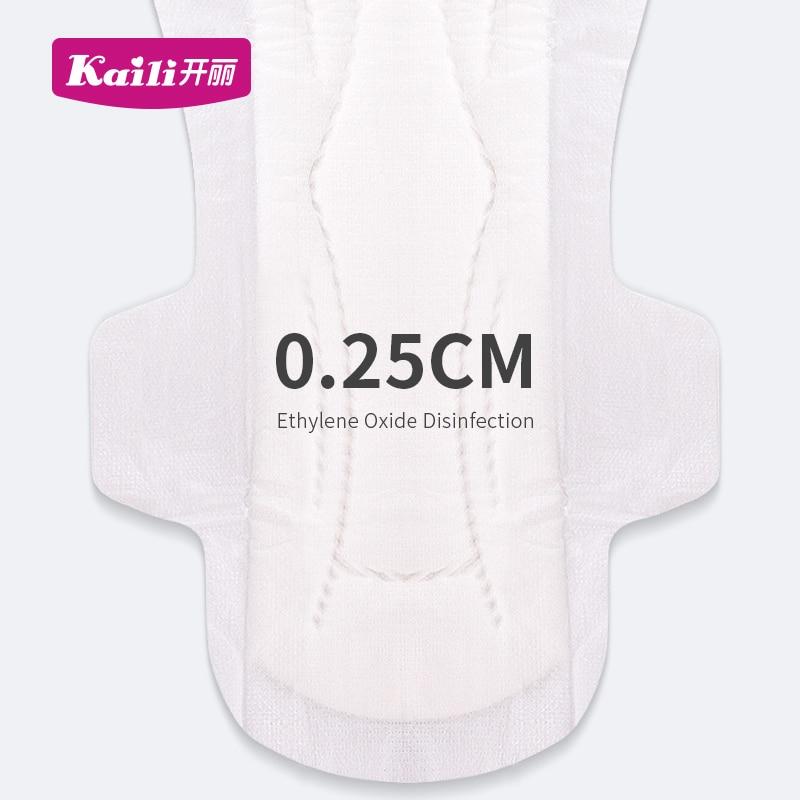 KAILI Maternity Pads Menstrual Sanitary Napkin M 12pics Absorbent Maternity Sanitary Pads Waterproof Feminine Hygiene Pads