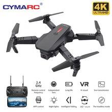 CYMARC M73 Drone 480P/4K HD Camera FPV Drones Video Live Recording Quadcopter Foldable RC Drone Mini Drones Toys VS E58