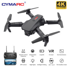 Cymarc m73 zangão 480p/4k hd câmera fpv drones vídeo gravação ao vivo quadcopter dobrável rc zangão mini drones brinquedos vs e58