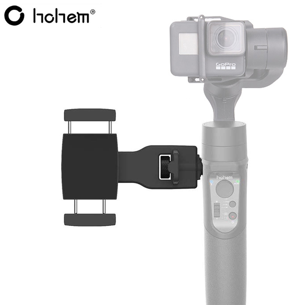Hohem Smartphone Holder Phone Clip Mount For Hohem ISteady Pro 2 Pro & Zhiyun Weebill Lab S & Feiyu G6 G6 Plus & DJI Ronin S