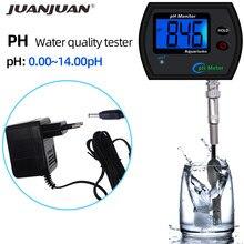 Digitale PH Meter Monitor PH-990 Wasser Qualität Säure Tester 0,00-14,00 pH Große Bildschirm Hintergrundbeleuchtung Display mit Adapter 35% off