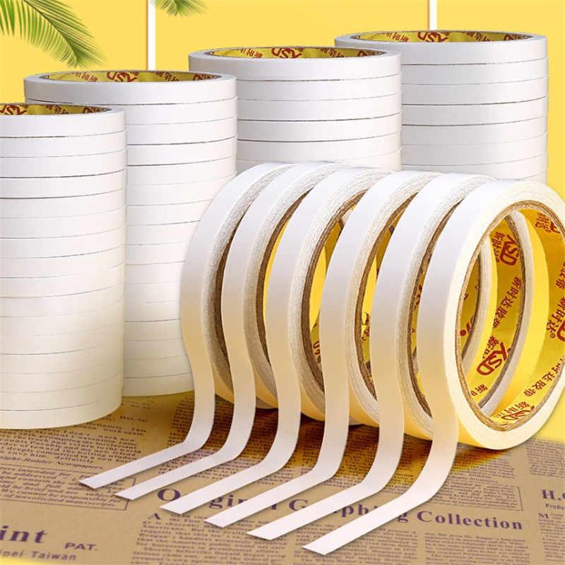 8M 양면 접착 스티커 가제트 접착제 디스크 테이프 종이 흰색 강한 울트라 얇은 면화 강한 울트라 얇은 높은 접착제 새로운