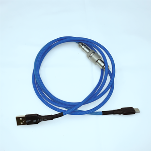 Image 1 - Mechanical Keyboard Metropolis Cable Aviator Connector Mechables Pulse V3 Custom coated Coil Type C USB Cables
