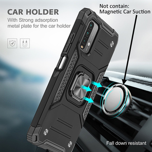 Image 3 - Drop resistance Military Rugged Case For Xiaomi Redmi 9T Armor Fall resistant impact Shock proof Shield Cover For Redmi 9 Power