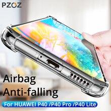PZOZ Shockproof Case For Huawei P40 Pro Lite Nova 6SE 7i Mobile