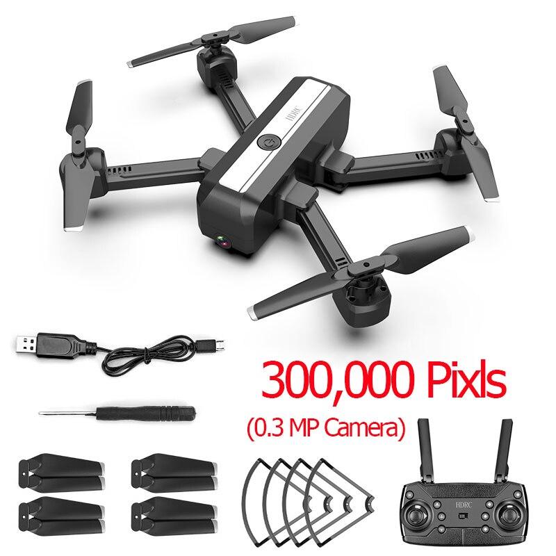 H20 4K Дрон двойная камера Дрон Профессиональный Квадрокоптер стабильная высота вертолет Дрон камера VS SG706 F11 KF607 XS816 GD89 - Цвет: 30W Camera