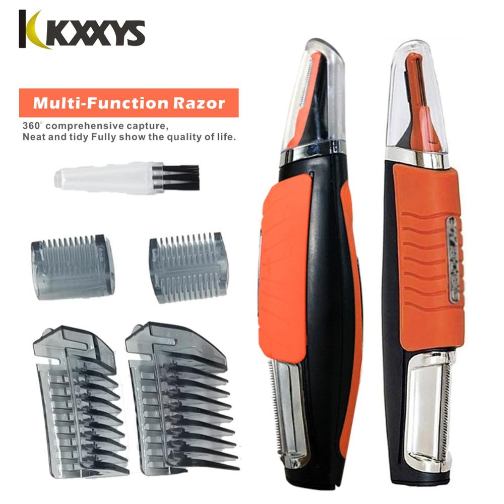 Multi-function Portable Shaver LED Light Beard Trimmer for Eyebrow Hair Body Eyebrow Ear Nose Trimmer Removal Face Care 1