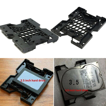 1pc 5.25 To 3.5 2.5 Tray Bracket Mounting Cooling Fan HDD Adapter SSD Hard Drive hot sale 2020 ssd adapter hard drive cover hdd ssd bracket tray lid for lenovo ibm x220 x220i x220t x230 x230i t430