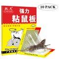 Липкие мыши для мыши, 10 шт., клеевая ловушка для грызунов, крыс, змей, Ловец, борьба с вредителями, не токсичные, экологически чистые