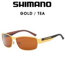 Shimano – lunettes De soleil HD polarisées UV 400 pour hommes, pour la conduite, Cool