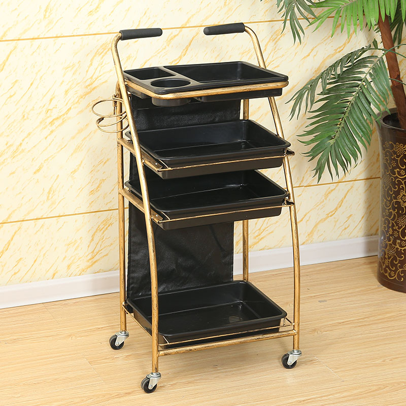 Hairdressing Cart Hair Salon Stroller Hairdressing Tool Car Beauty Cart Barber Shop Stroller Hairdressing Hair Salon Furniture