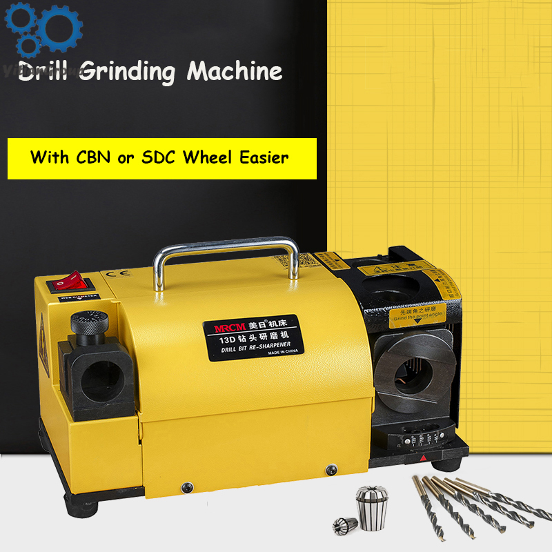 220V US Japan Grinding Machine Drill Grinder Full-automatic Grinding Drill Artifa With CBN Or SDC Wheel Easier Operation
