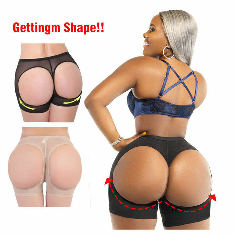 Sexy Women Butt Lifter Shaper Tummy Control Panties Buttock Open Instan Boyshort Women Body Sculpting Hip Shaping Shorts 3FS