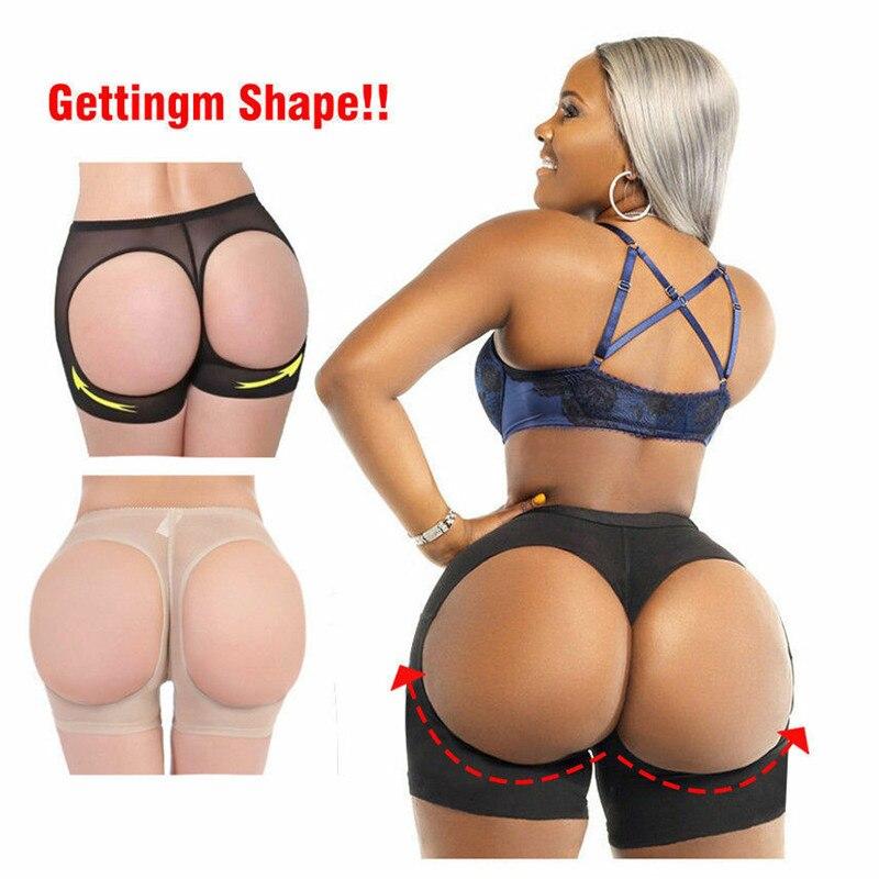Sexy Women Butt Lifter Shaper Tummy Control Panties Buttock Open Instan Boyshort Women Body Sculpting Hip Shaping Shorts 3FS
