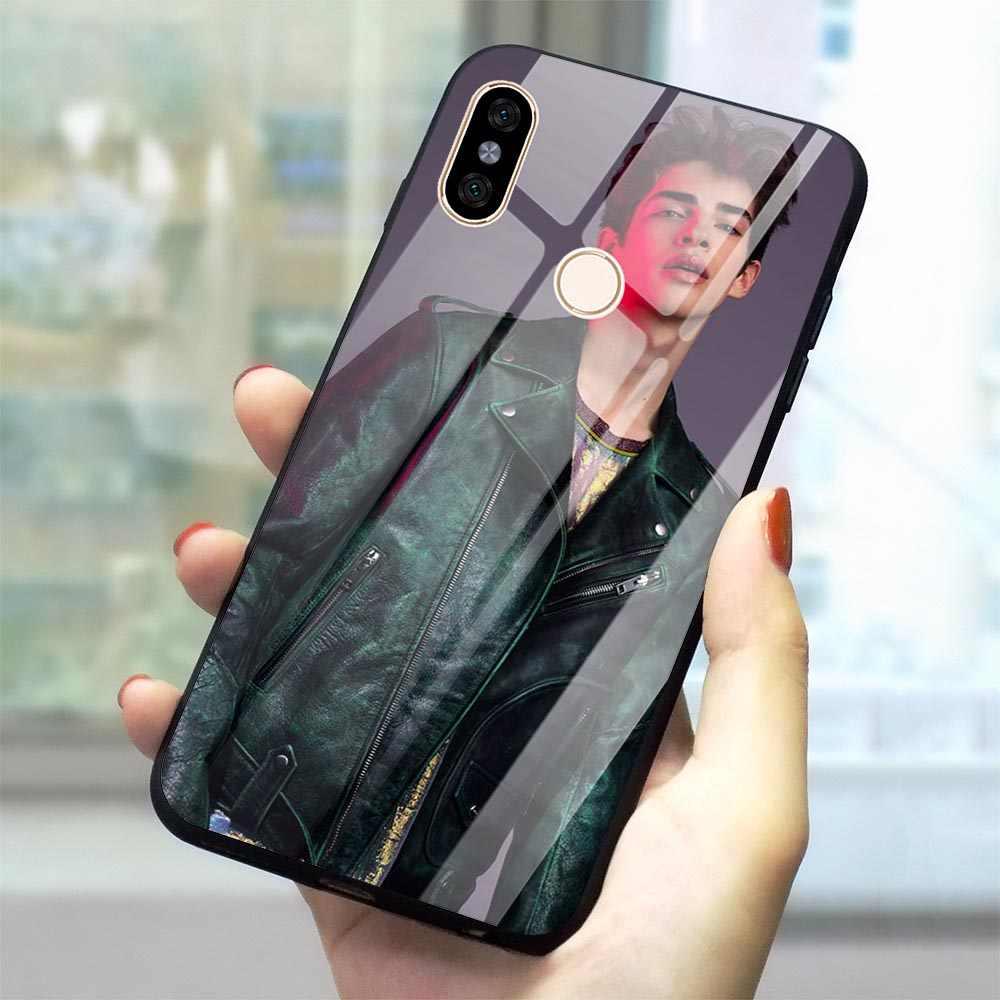 Чехол Manu Rios из закаленного стекла для телефона Xiaomi mi 8 Lite Red mi Phone Cover для 4X 6A Note 5 6 Pro 7 A1 A2 8 Lite 9 Pocophone